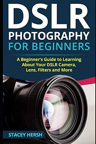 If you have been thinking about taking up photography, then stop thinking and start actingnow! DSLR Photography for Beginners - A Beginner's Guide to Learning AboutYour DSLR Camera, Lens, Filters and More! Will help you answer any questions you ...