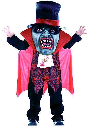 Kids Boys Girls Halloween Horror Costumes Vampire, Zombie, Evil and Mr Hyde Mad Hatter Fancy Dress Costume Outfit (Large (Age 10-12), Vampire Mad Hatter) -