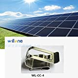 Willone 1000pcs/lot WL-CC-4 stainless steel solar cable clips ,cable clamp mounting installation