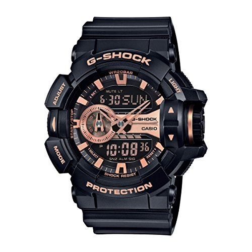 Casio G Shock Gold Tone Quartz GA400GB 1A4