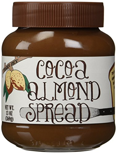 Trader Joe's Cocoa Almond Spread 13 Ounce