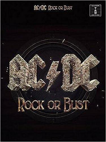 AC/DC: Rock Or Bust (TAB): Amazon.es: Hal Leonard Publishing Corporation: Libros en idiomas extranjeros
