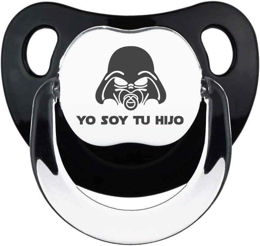 Chupete Yo soy tu hijo negro, chupete bebé parodia Yo soy tu padre. Bebé friki. (negro, 0-6 meses): Amazon.es: Bebé