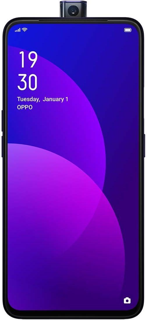 OPPO F11 Pro (Thunder Black, 6GB RAM, 128GB Storage) (Rising Camera)