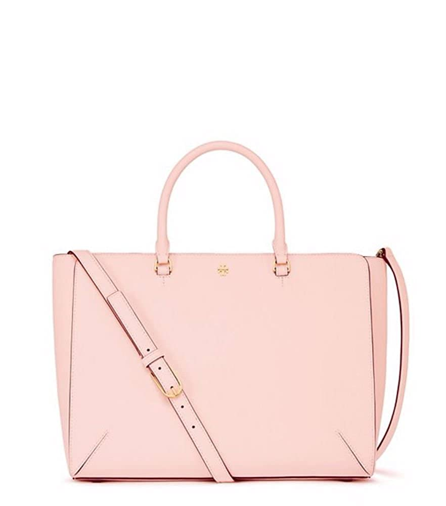 f420cca0685 Tory Burch Robinson Large Zip Tote (Pale Apricot)  Amazon.ca  Shoes    Handbags