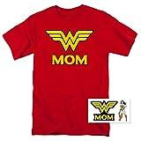 Wonder Woman Wonder Mom DC Comics T Shirt (Large)