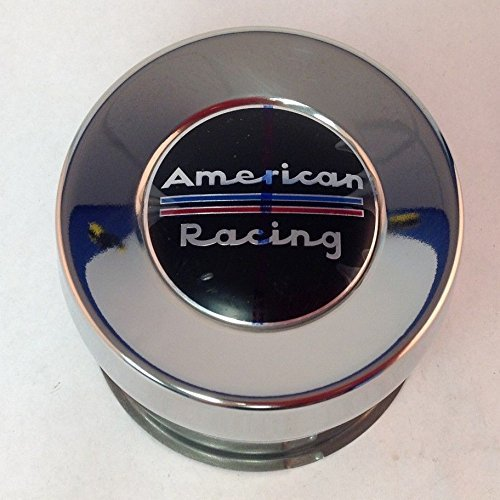 (American Racing 8 Lug 1515002SS Stainless Steel Push Thru Center Cap)