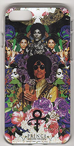 Prince iPhone 7 Rubber Case Art Clear (Nelson Rubber)