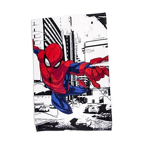Spiderman Fleece Blanket Throw   Classic Metropolis Design Super Soft Blanket   Perfect for Any Children's Bedroom