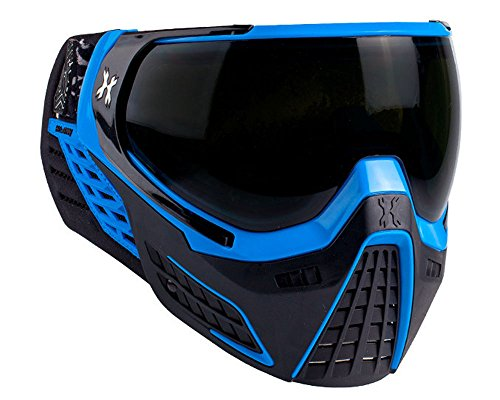 Paintball Lens Blue Mask - HK Army KLR Paintball Mask Cobalt