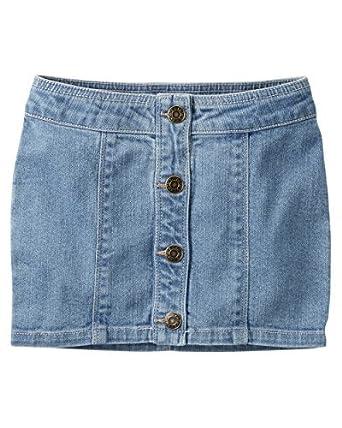 Amazon Com Carter S Little Girls Denim Skirt Kids Clothing