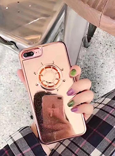Chromed Wheel - Losin iPhone 6/6S 4.7 inch Case Luxury Electroplate 3D Ship Steering Wheel Chromed Soft TPU Protective Back Case