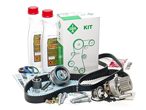 BLAU GH21131-1 Vw Jetta V Timing Belt Kit - 2005-06 w/ 4 Cylinder 1.9L TDI Diesel Engine Code BRM - Gen II - Enhanced+ 1.9l Tdi Diesel Engine