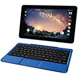 2018 Premium High Performance RCA Galileo Pro 11.5 Touchscreen Tablet Computer with Detachable Keyboard, Intel Quad-Core Processor 1GB Memory 32GB SSD Webcam WIFI Bluetooth Android 6.0, Blue