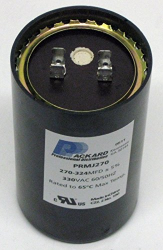 Room Air Conditioner Replacement Parts Packard PRMJ270 Motor Start Capacitor. 270-324 MFD UF / 330 (What City Is Central Michigan In)