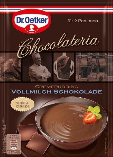 Dr. Oetker olateria de chocolate de chocolate con leche, 18 pack (18 x