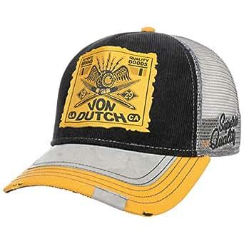 Von Dutch Gorra Trucker PremiumDutch de Beisbol Baseball (Talla única - Negro)