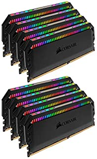 Corsair Dominator Platinum RGB 128GB (8x16GB) DDR4 3600 (PC4-28800) C18 1.35V Desktop Memory (B07N3HBSC1) | Amazon price tracker / tracking, Amazon price history charts, Amazon price watches, Amazon price drop alerts