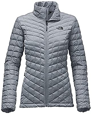 The North Face Stretch Thermoball Jacket - Women's Mid Grey Medium