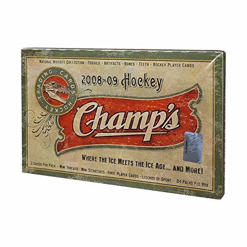 2008-09 Upper Deck Champs Hockey Hobby Box (Fossil Legends)