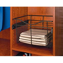 Kitchen Rev-A-Shelf – CB-182007ORB-1 – Oil Rubbed Bronze Closet Pull-Out Basket pull-out organizers