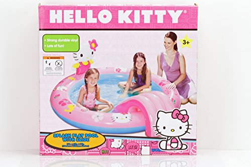 Hello Kitty Splash Play Pool with Slide - Slide Hello Kitty