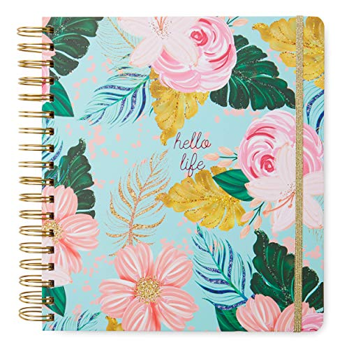 2019-2020 Daily Planners/Calendars: Tri-Coastal Design Planners with Monthly, Weekly and Daily Views - Personal Planner Notebook for Work or Home (Hello Life - Floral, 17 Month (2019-2020))