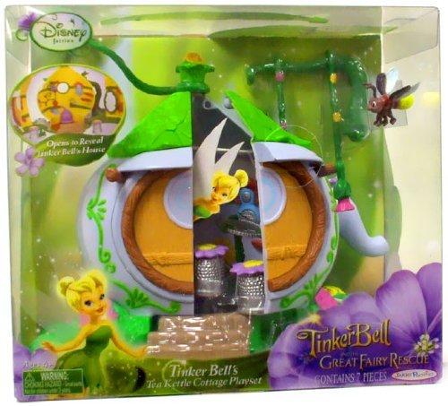 Tinkerbell Tea - Tinker Bell's Tea Kettle Cottage Playset