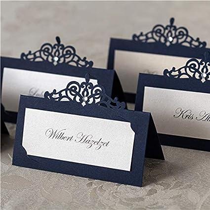 48Pcs/set Wedding Table Name Card Holder-Wedding Party Table Name Place  Cards-Table Name Place Cards-Table Number Holders for Weddings-Place Card