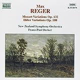 Max Reger: Mozart Variations and Fugues; Mozart Variations Op. 132 / Hiller Variations Op. 100