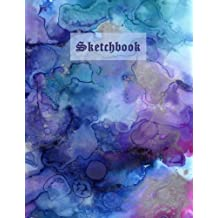 Sketchbook Watercolor: Blank Paper for Drawing and Sketching: Extra-large (8.5 x 11) inches, White paper, Sketch, Doodle and Draw (Artist Edition)