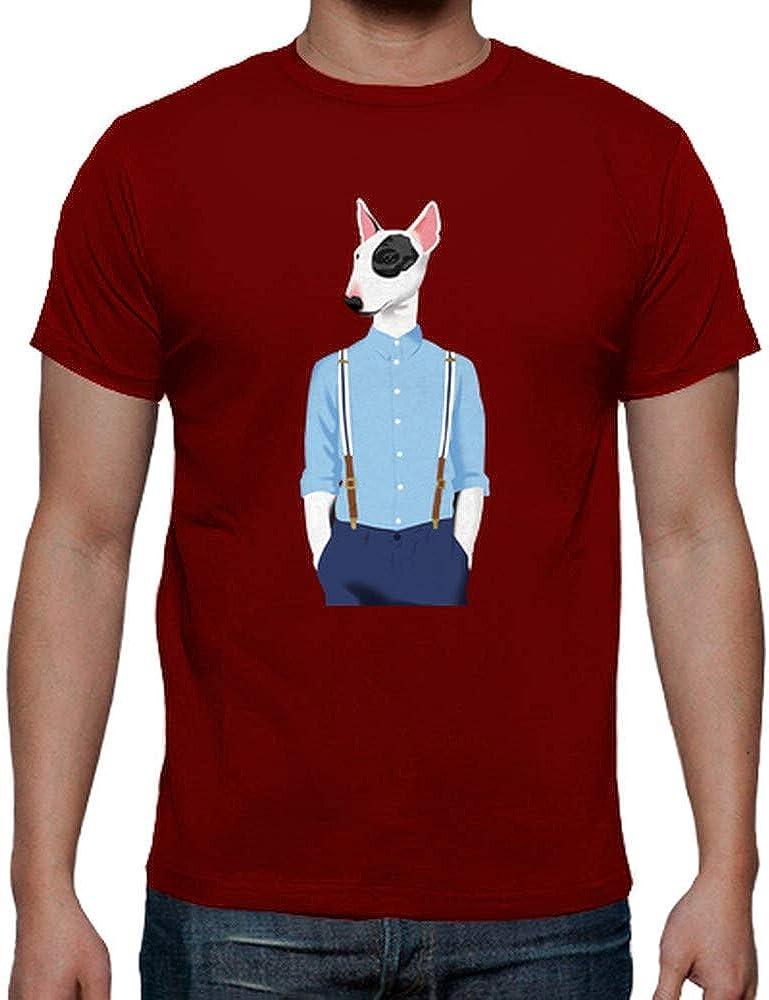 latostadora - Camiseta Bull Terrier Skinhead para Hombre: pete: Amazon.es: Ropa y accesorios