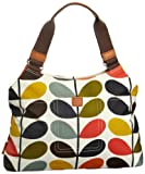 Orla Kiely Matt Laminated Nautical Multi Stem Classic Shoulder 13SENMS024-9600-00 Shoulder Bag,Multi,One Size, Bags Central