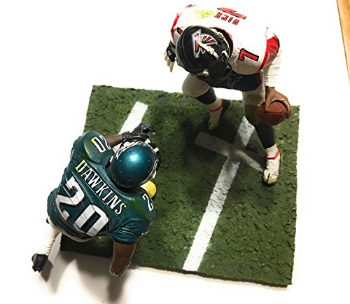 Michael Vick #7 Atlanta Falcons Brian Dawkins #20 Philadelphia Eagles Two Pack McFarlane NFL Six Inch Action Figures