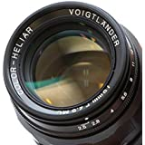 Voigtlander COLOR-HELIAR 75mm F2.5 L Black Lens #9964