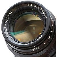 Voigtlander COLOR-HELIAR 75mm F2.5 L Black Lens #9964