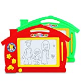 Hisoul Magnetic Writing Board, 13.0'x8.7' Education Doodle Toys for Kids Writing Painting Drawing...
