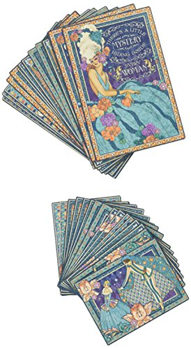 Graphic 45 4501555 Midnight Masquerade Ephemera Cards (Pack of ()