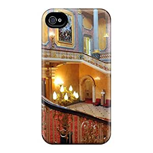 Durable Buckingham Palace Interior Back Case/cover For Iphone 4/4s
