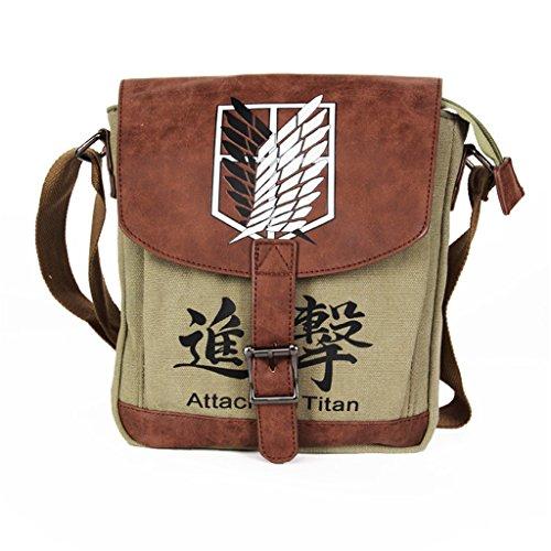 Attack on titan Shingeki no Kyojin Anime Cosplay Backpack Schoolbag - 8