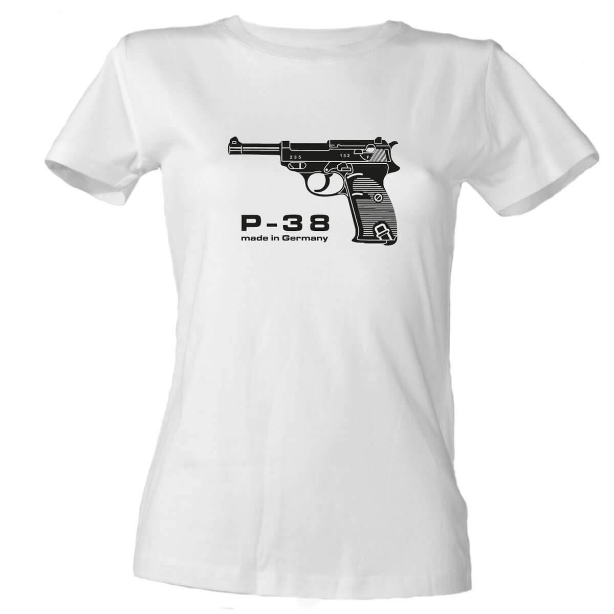 Walther P38 Damen T-Shirt
