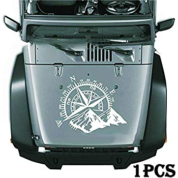 Amazon Com Compass Hood Vinyl Compass Hood Decal Auto