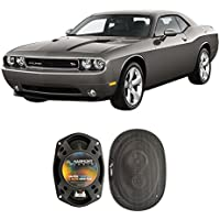 Fits Dodge Challenger 2008-2014 Front Door Factory Replacement Harmony HA-R69 Speakers