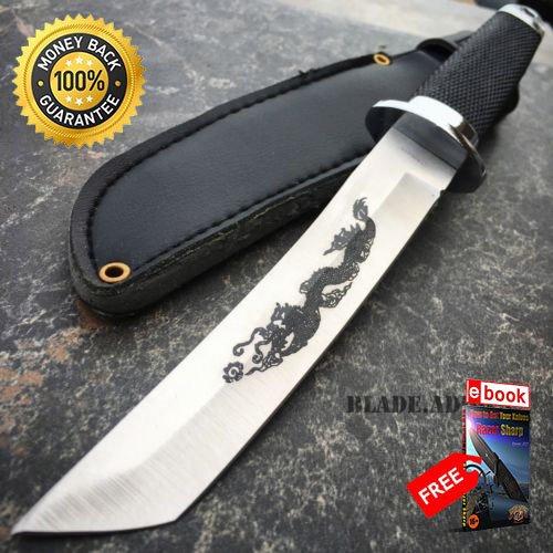9 Samurai Katana Style Dragon Tanto Short Sword Hunting ...