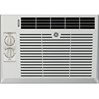 """GE AEV05LX 17"""" Window Air Conditioner with 5000 Cooling BTU in Light Cool Gray"""