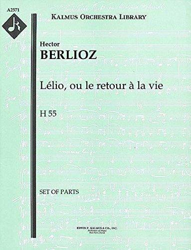 Lélio, ou le retour à la vie, H 55: Set of Parts [A2571]