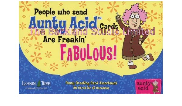 Amazon aunty acid 20 funny greeting cards assortment 90771 amazon aunty acid 20 funny greeting cards assortment 90771 retired office products bookmarktalkfo