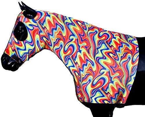 Sleazy Sleepwear Lycra Hood - Fiesta (Sleazy Sleepwear Hood)