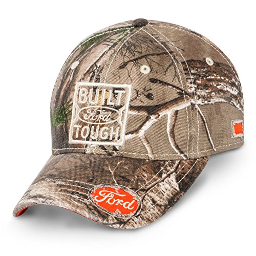 Ford Built Ford Tough Real Tree Baseball Cap, One Size