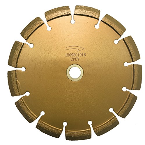 (Whirlwind USA CPC 7 in. Laser Welded Premium Crack Chaser Tuck Point Blade for Concrete Asphalt (7